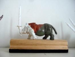 rhino candle